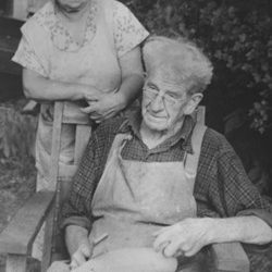 Partners in Carving, Charlie and Edna Perdew