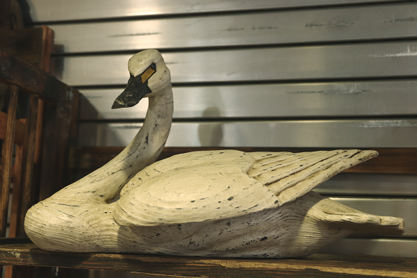 Antique Style Swan