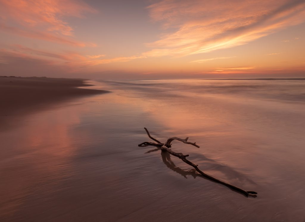 Natural Landscapes Third In Category Pink Dawn By Margaret Udinski