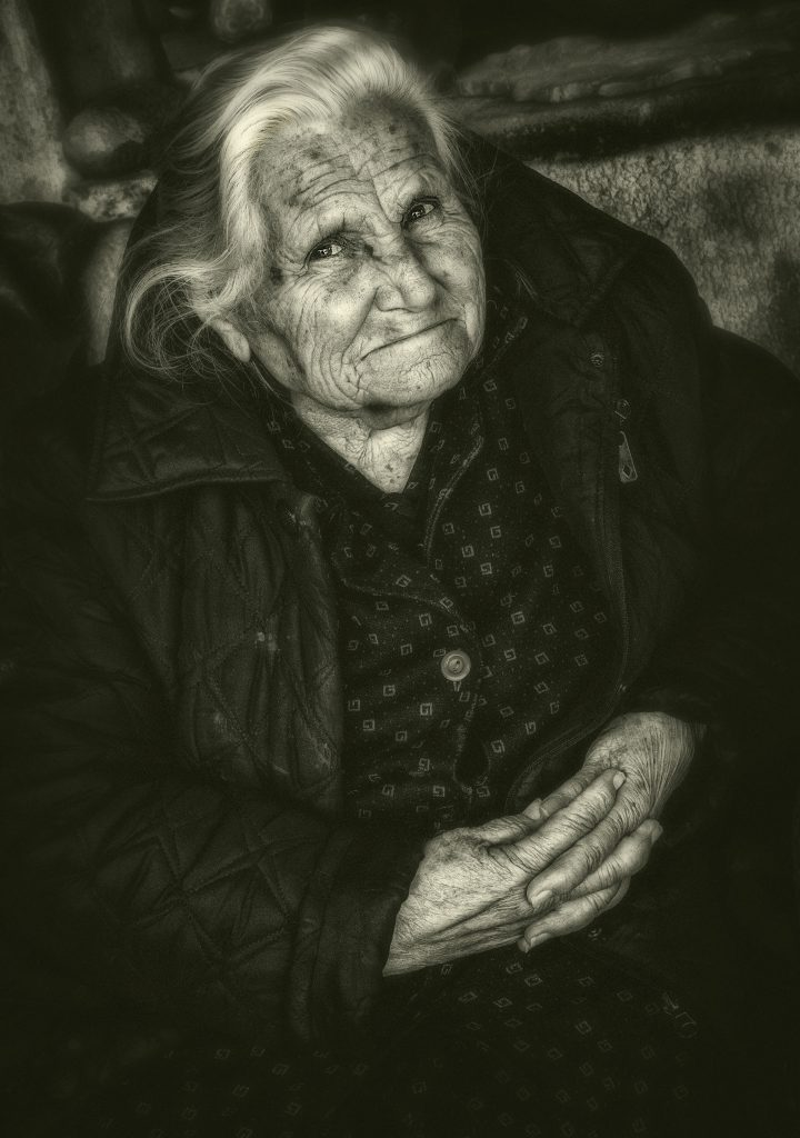 Portrait Photography Honorable Mention Naxos Potter Yia Yia Greece By Martin Heavner