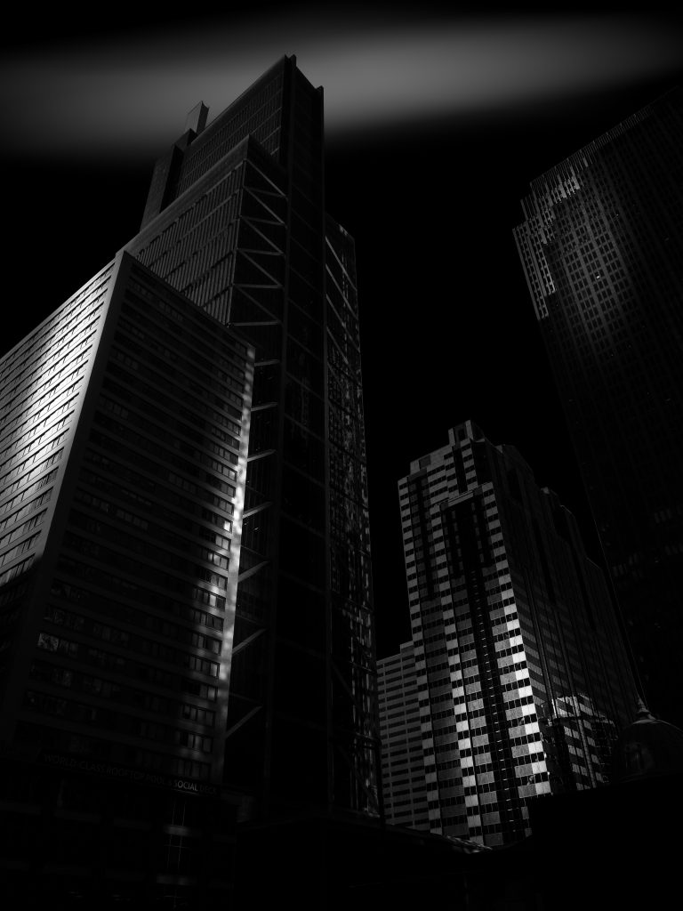 Urban Landscapes Honorable Mention Philly nightscape by Douglas Good